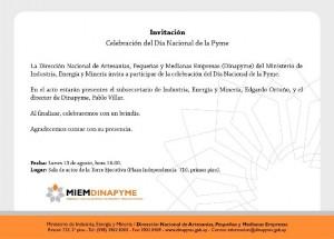 invitación dia de la pymes